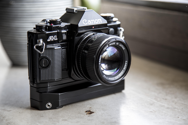Canon A1 von 1978