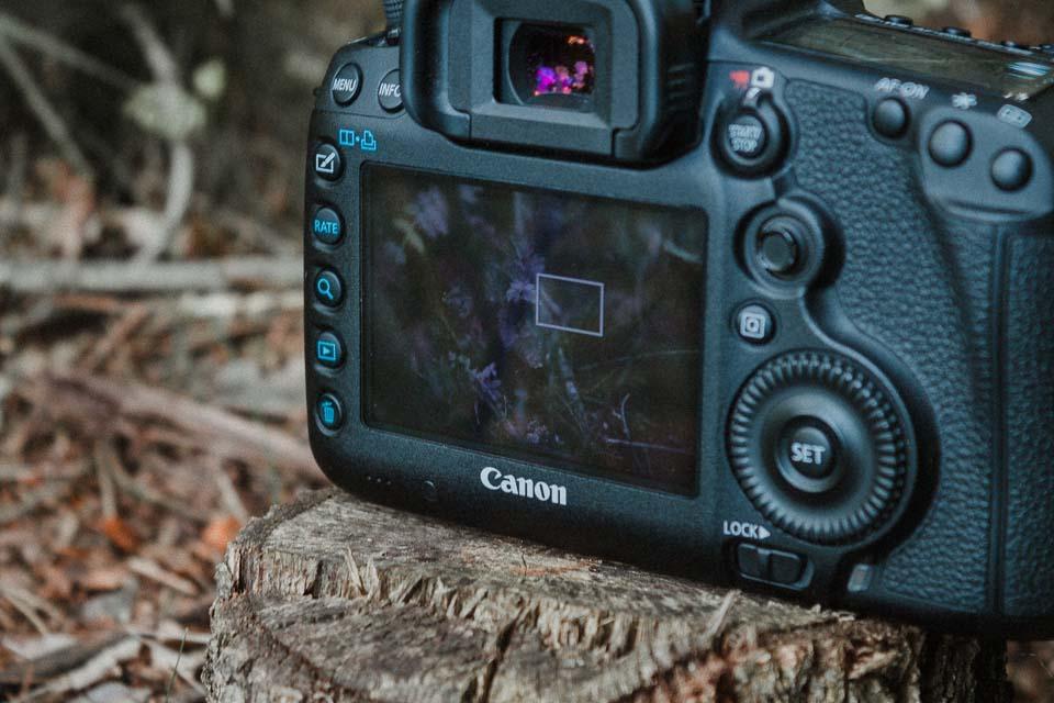 Der Liveview an der Spiegelreflexkamera