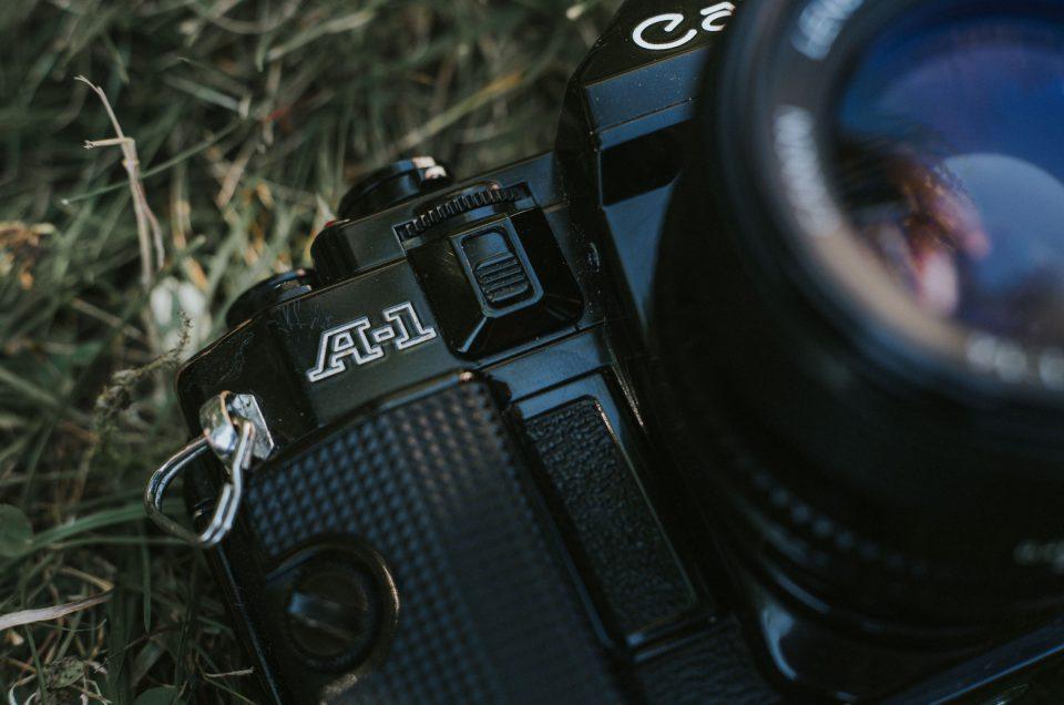 Analog Fotografieren: Der Einstieg mit der Canon A1 Spiegelreflexkamera