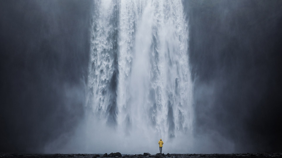 Wasserfall Foto von Florian Wenzel