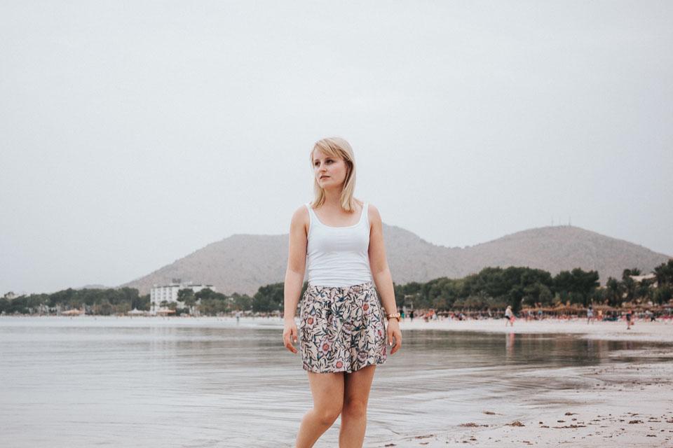 Porträt Fotografie am Strand