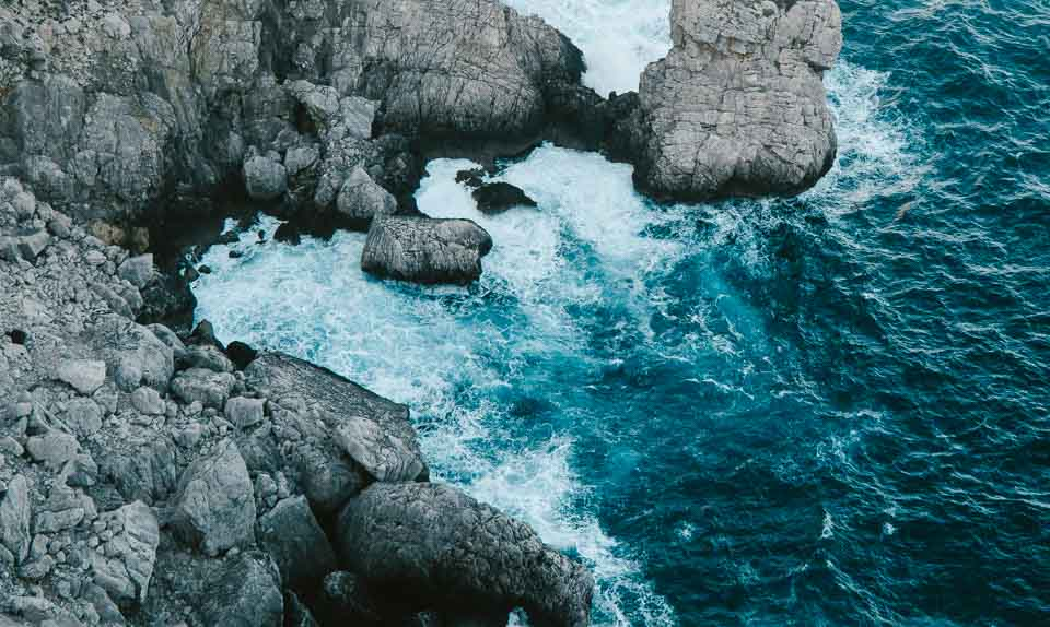 Brechende Wellen fotografieren