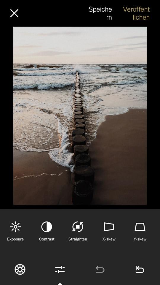 VSCO als Bildbearbeitungs-App kostenlos nutzen