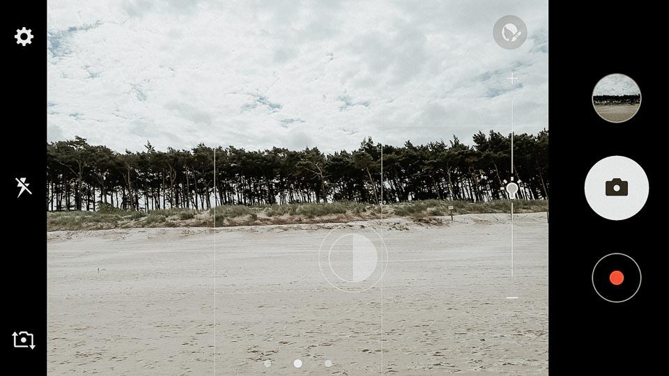 Korrekte Belichtung auf Handy Fotos