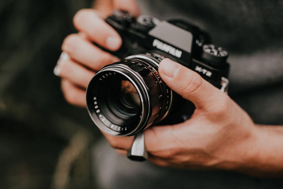 Revueflex 55mm 1.8 Objektiv an Fujifilm X-T2