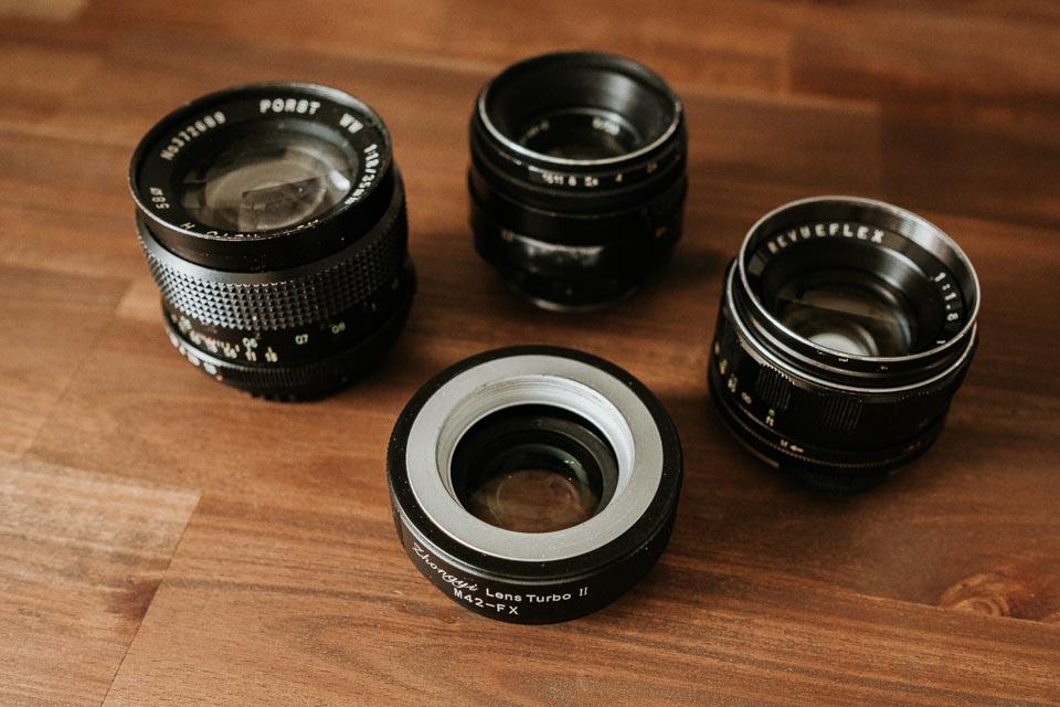Lens Turbo für Fuji