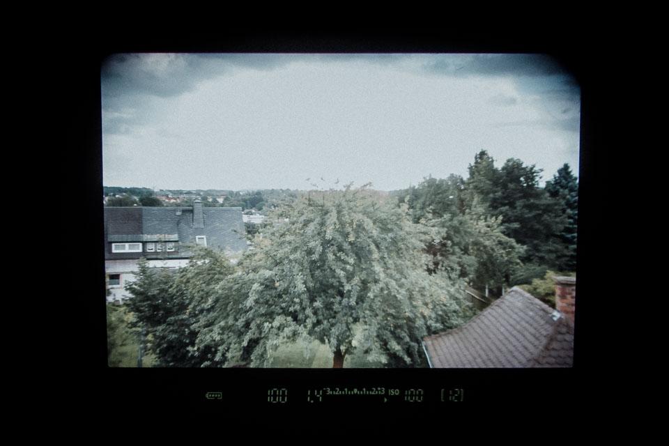 Optischer Canon Sucher