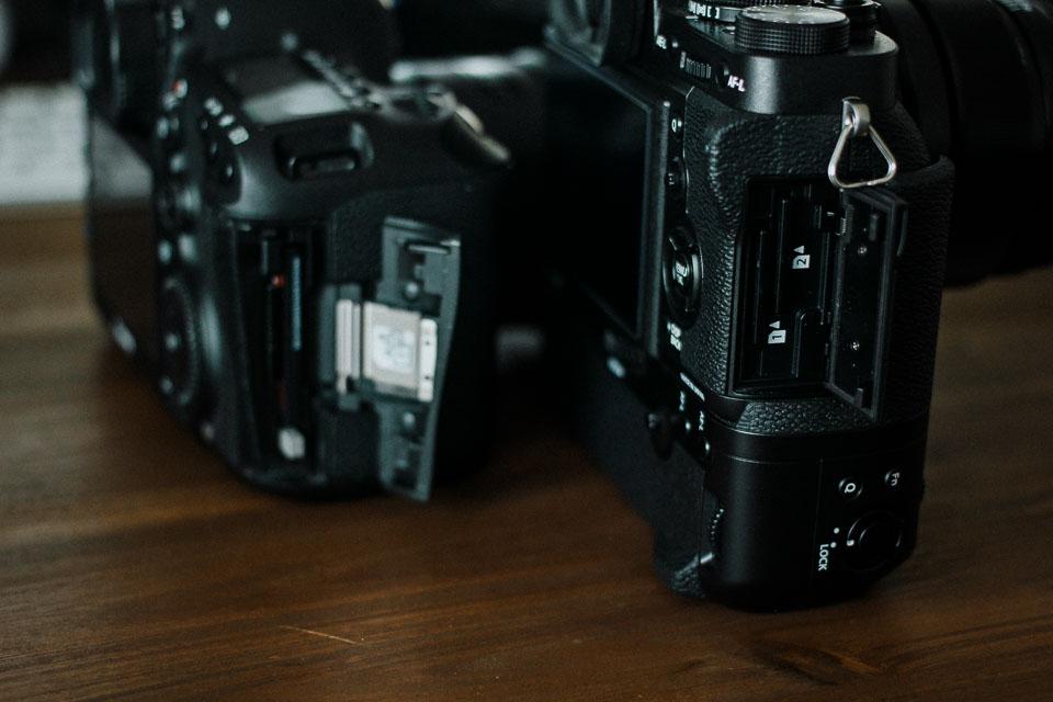 Dual Kartenslot auch an Systemkamera