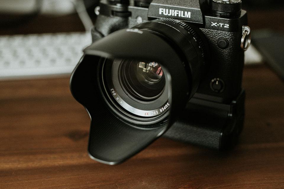 Das Fujinon XF 23mm 1.4 Objektiv an der X-T2