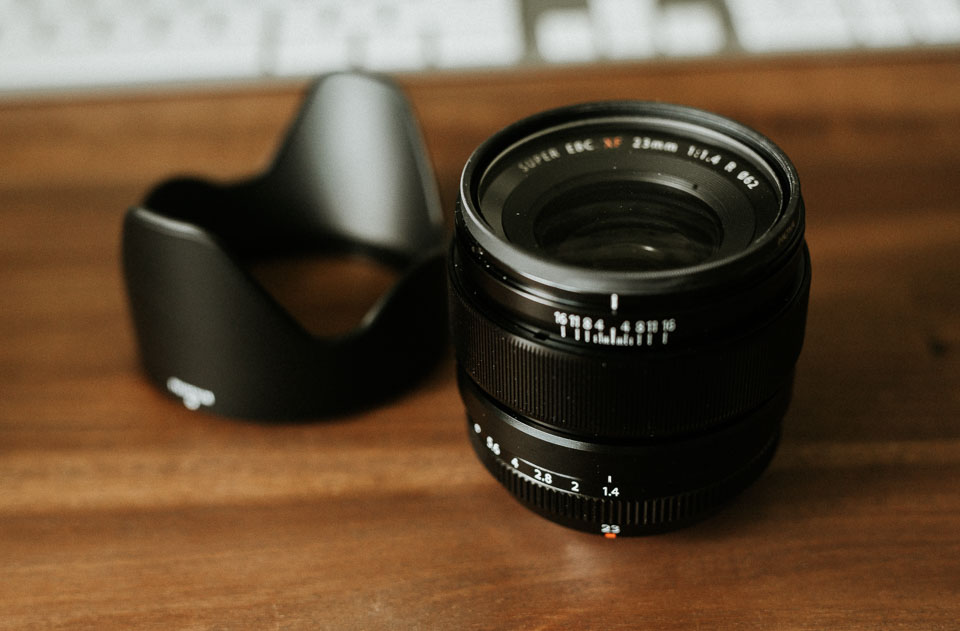 Fuji 23mm 1.4 Review - ein Profi Objektiv?