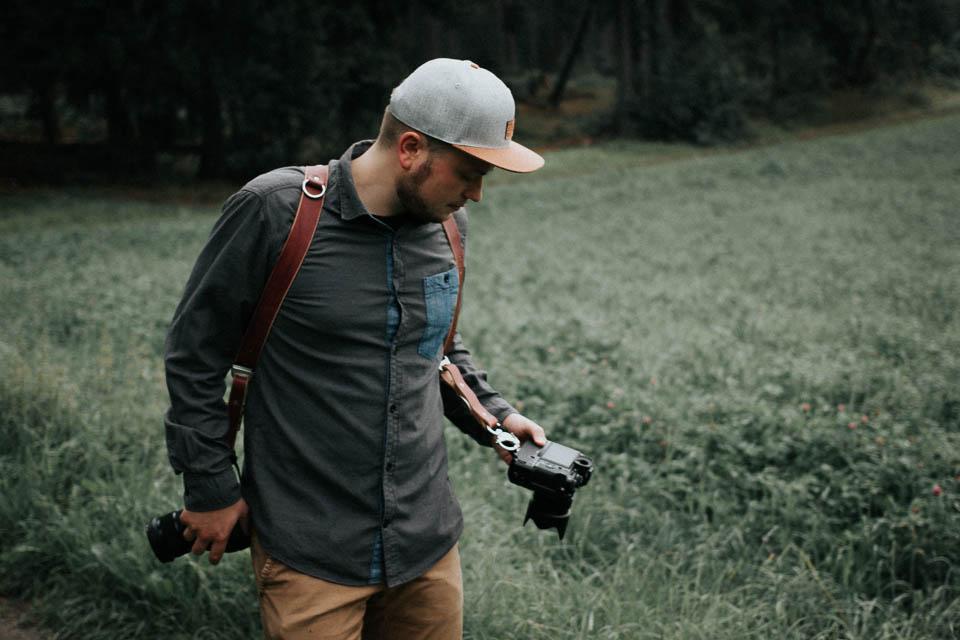 Ein schlichter Schultergurt für deine Kamera