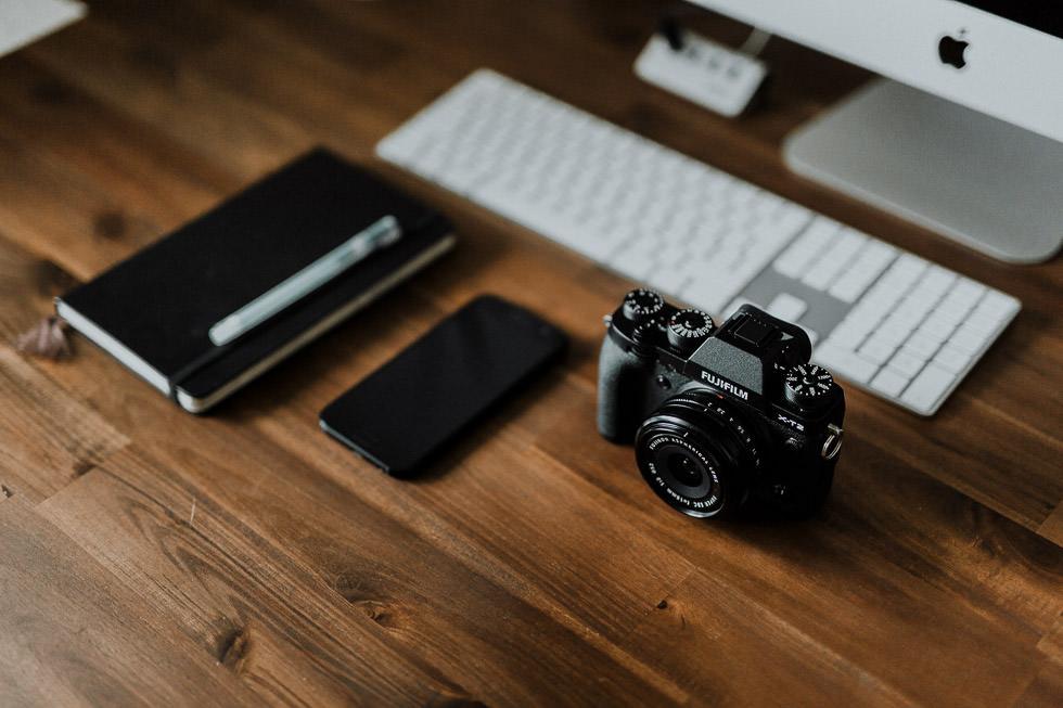 Selbstständig als Fotograf machen und Arbeiten im Homeoffice