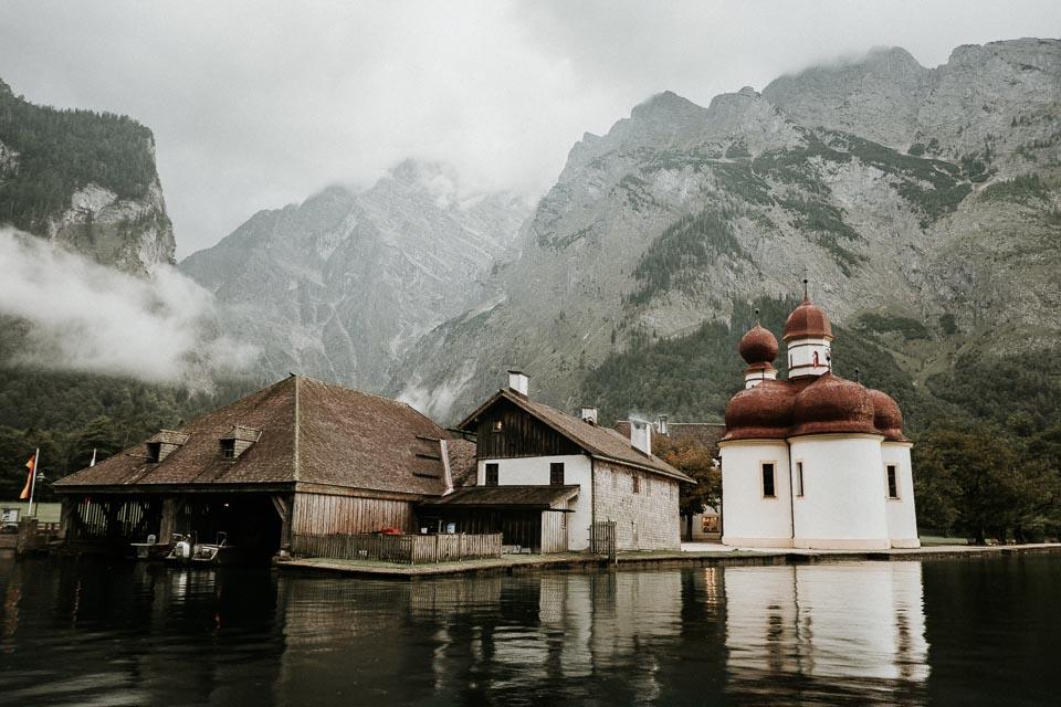 Bilder am Königssee in Berchtesgaden