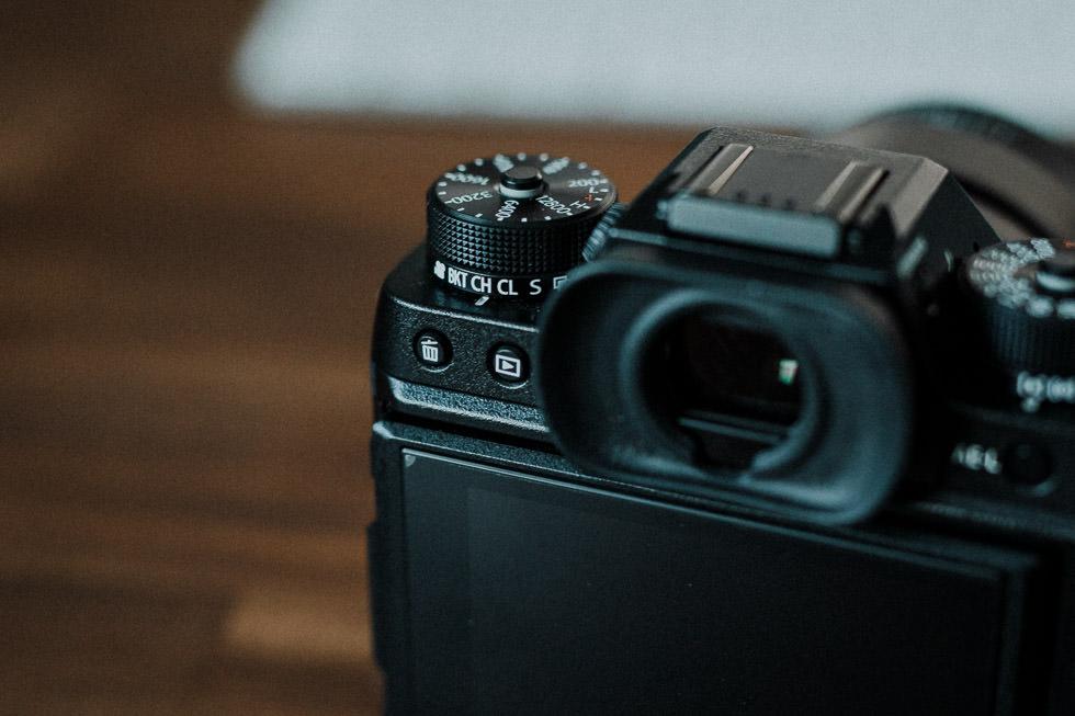 Bedienung Fujifilm X-T2