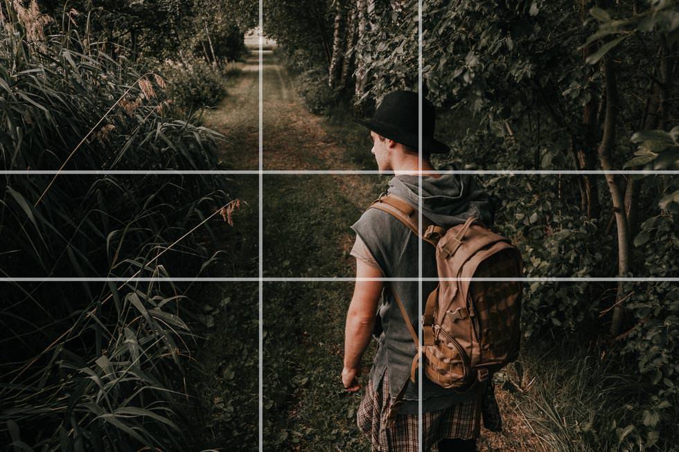 Goldener Schnitt und Goldene Spirale in der Fotografie als Bildkompositionsgrundlage