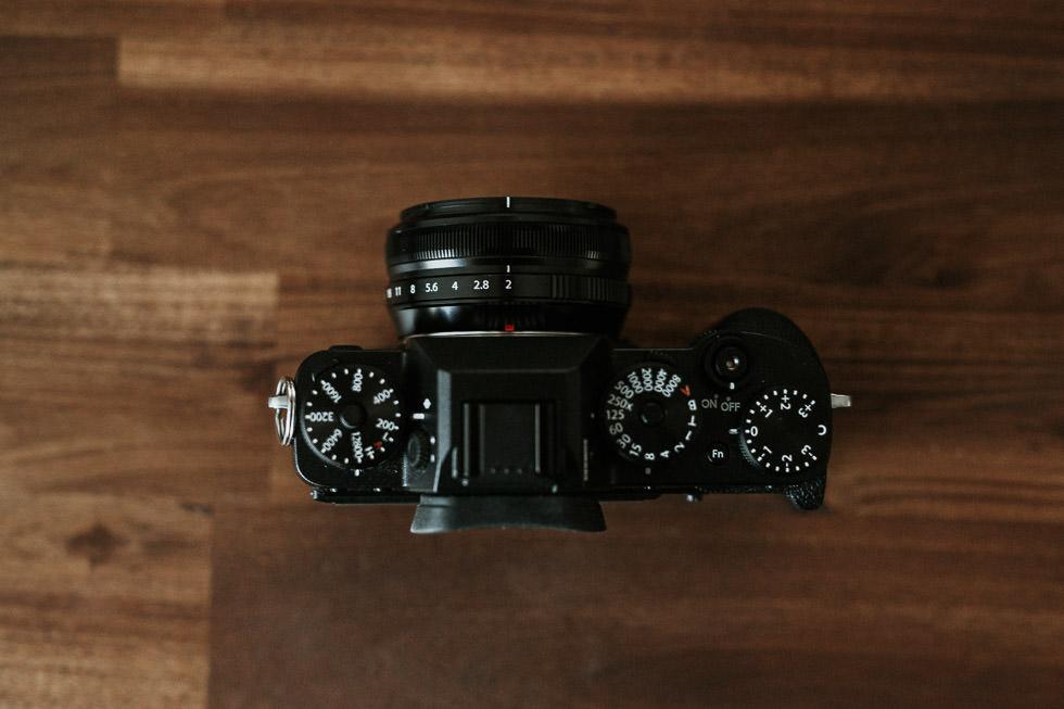 Das Fuji XF 18mm F2 an der Fuji X-T2