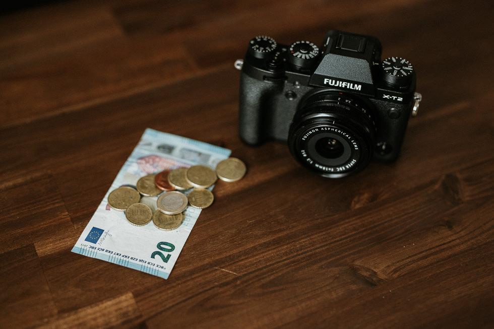 Als Fotograf Preise kalkulieren