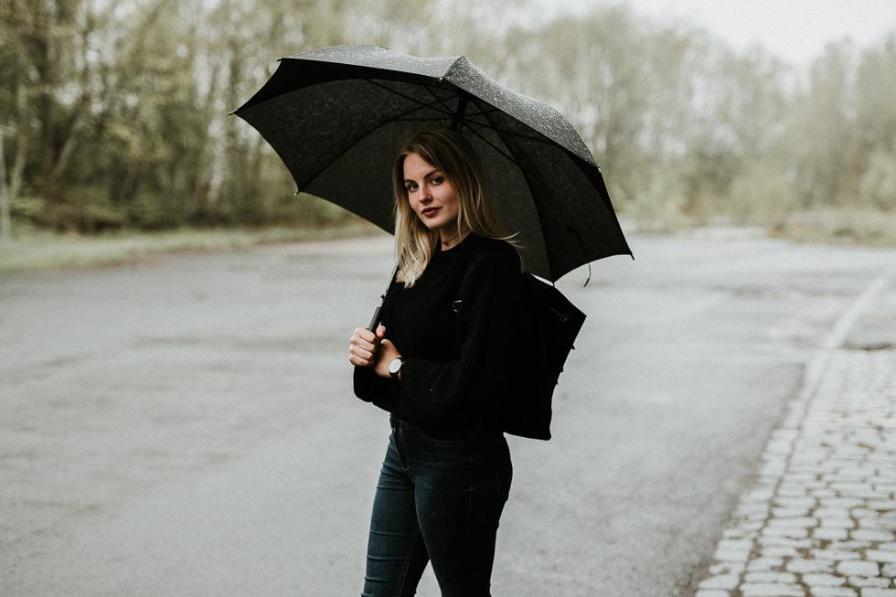 Regenschirm als Fotografie Accessoire