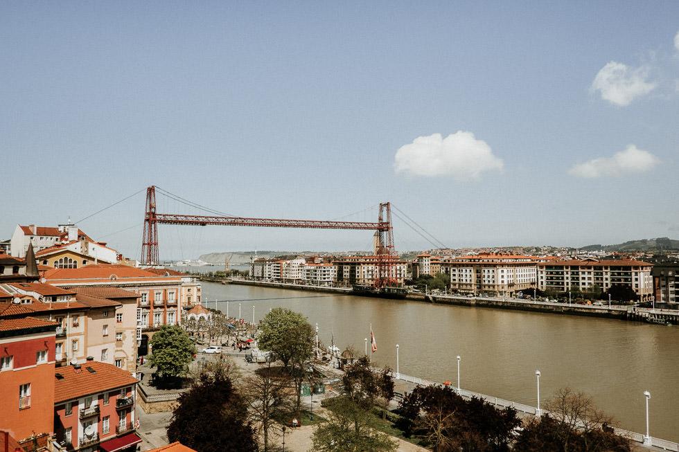 Bilbao Sehenswürdigkeiten - Puente de vizcaya