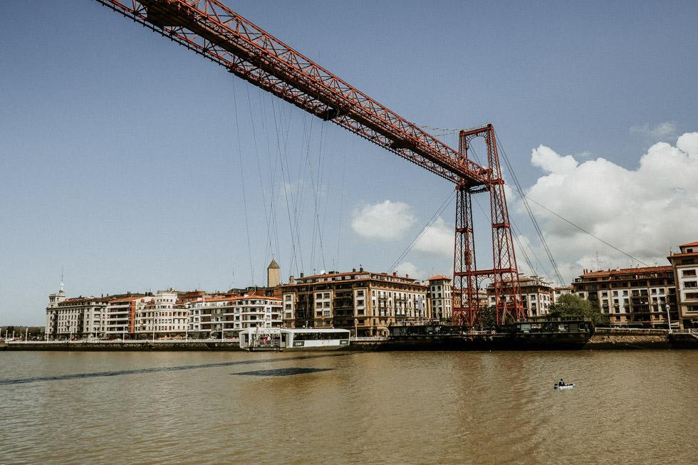 Bilbao Sehenswürdigkeiten - Fährenbrücke Puente de Vizcaya