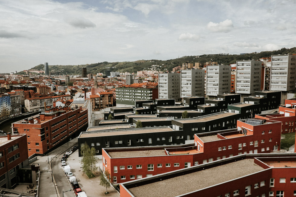 Bilbao Reise - Blick aus dem Hotelzimmer