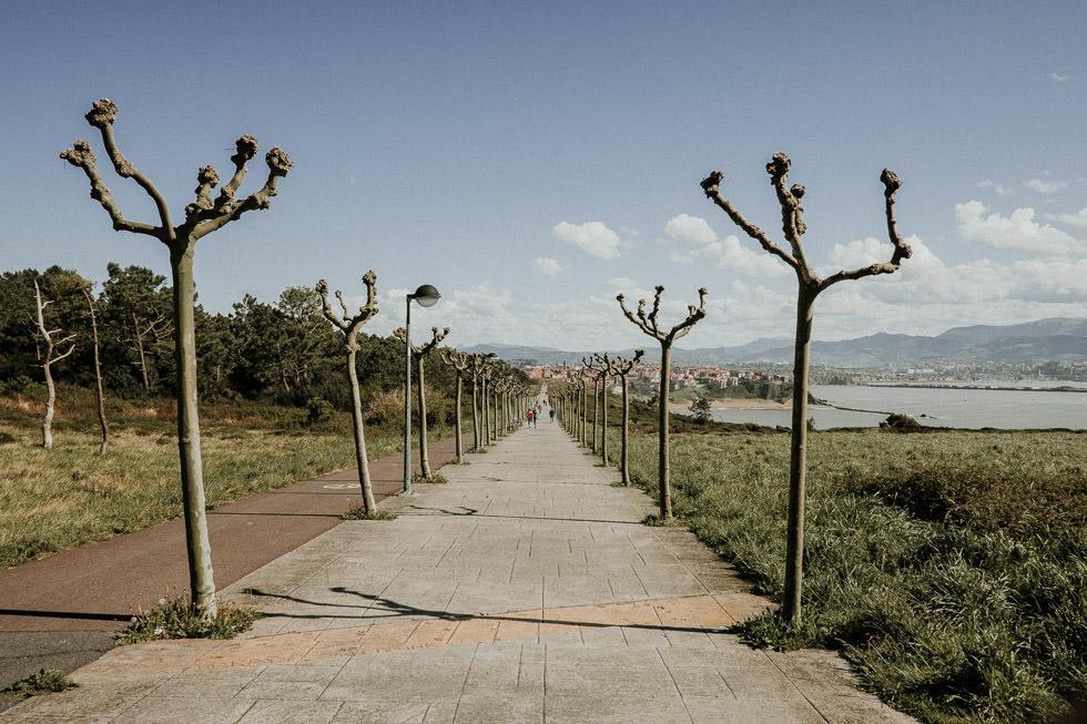 Jogging Weg nach La Galea