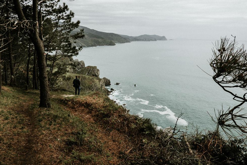 Steilküsten von Bilbao / San Pelaio