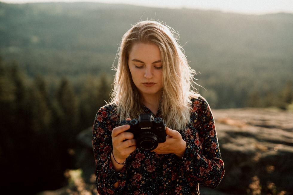 Fujifilm X-T2 beim Portrait Fotoshooting