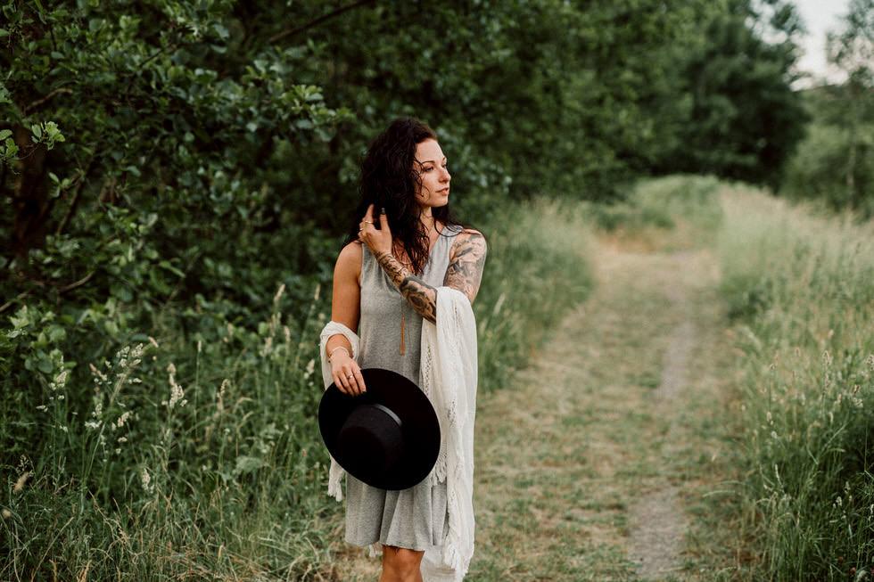 Fotografie Requisiten für Outdoor Portrait Aufnahmen