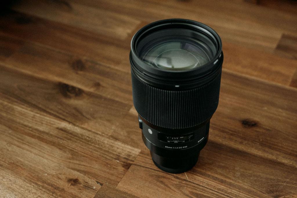 Sigma 85mm 1.4 Art Objektiv