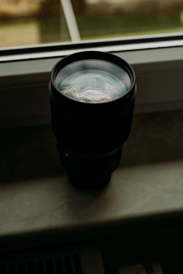 Die Linsen des Sigma 85mm 1.4 Art Objektivs