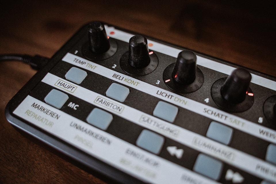 Bearbeitung mit Midi Controller