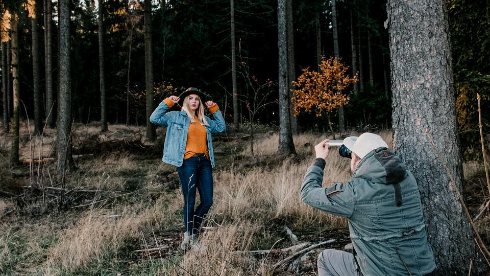 Prisma Fotografie mit Lichtbrechungen im Bild
