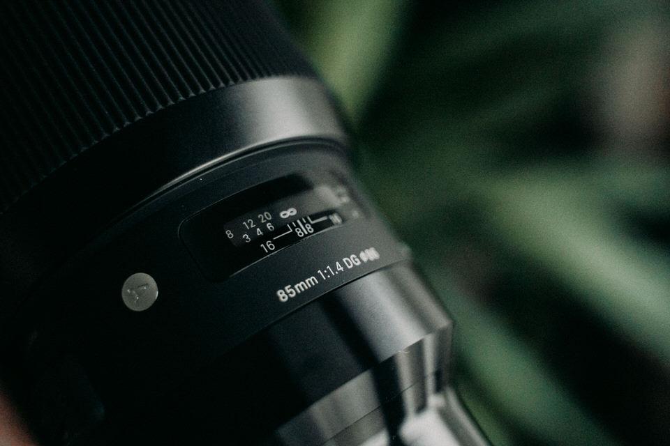 Objektiv für Nachtaufnahmen