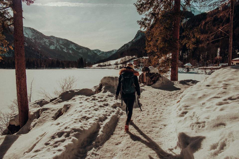 Hintersee Berchtesgaden im Winter