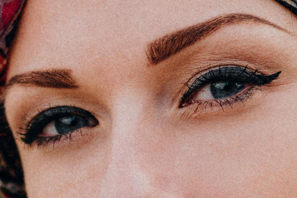 Schärfe auf Augen beim Portrait
