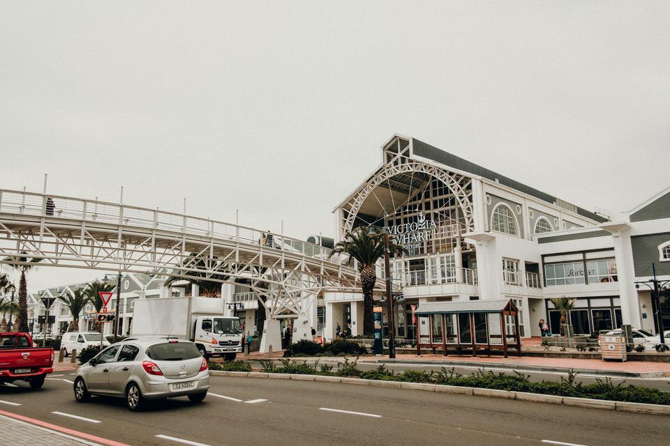 Einkaufszentrum Viktoria Waterfront Kapstadt