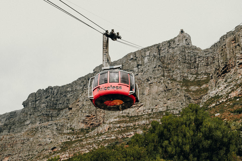 Tafelberg Seilbahn in Kapstadt