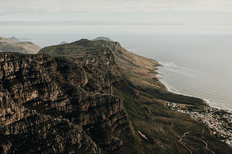 Tafelberg Ausblick Kapstadt