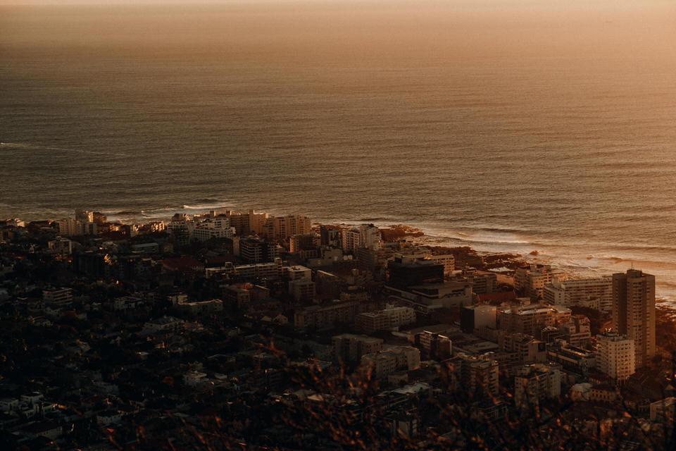 Aussicht vom Signal Hill Kapstadt