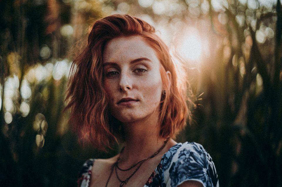 Sommersprossen fotografieren und bearbeiten – Shooting Steffi