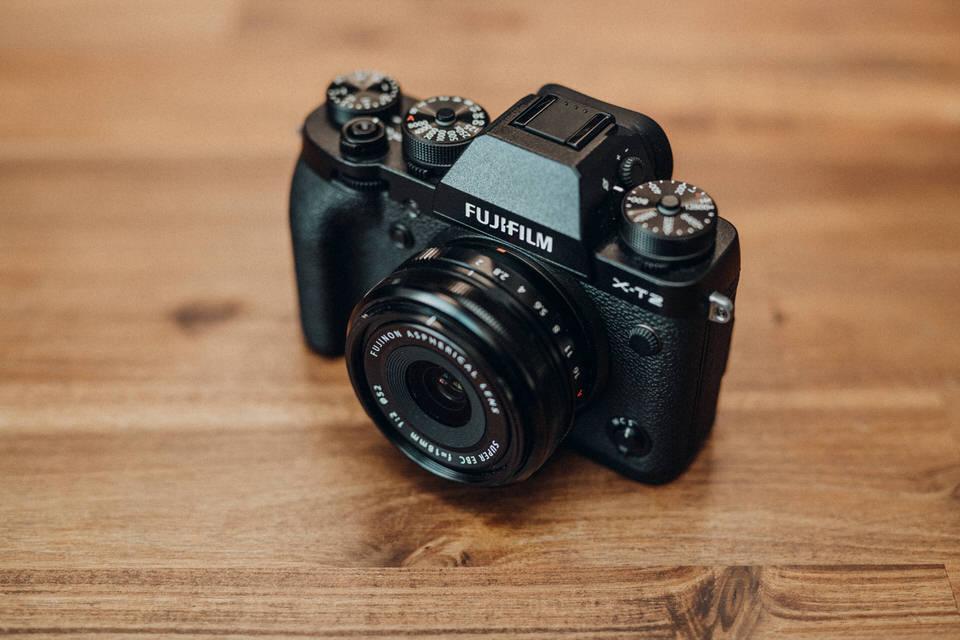 Fujifilm X-T2 Kameraausrüstung