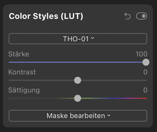 Lightroom Presets in Luminar 4
