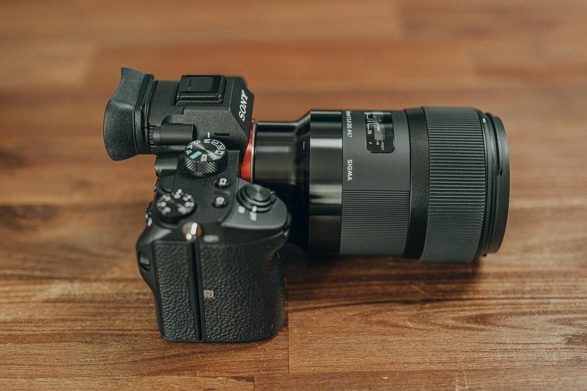 Die Sigma 35mm 1.4 E-Mount Variante