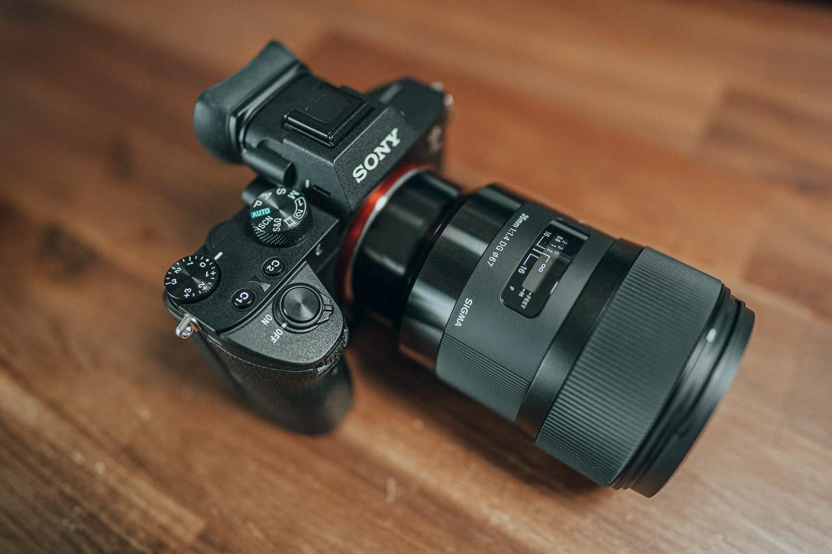 Das Sigma 35mm 1.4 Sony Objektiv