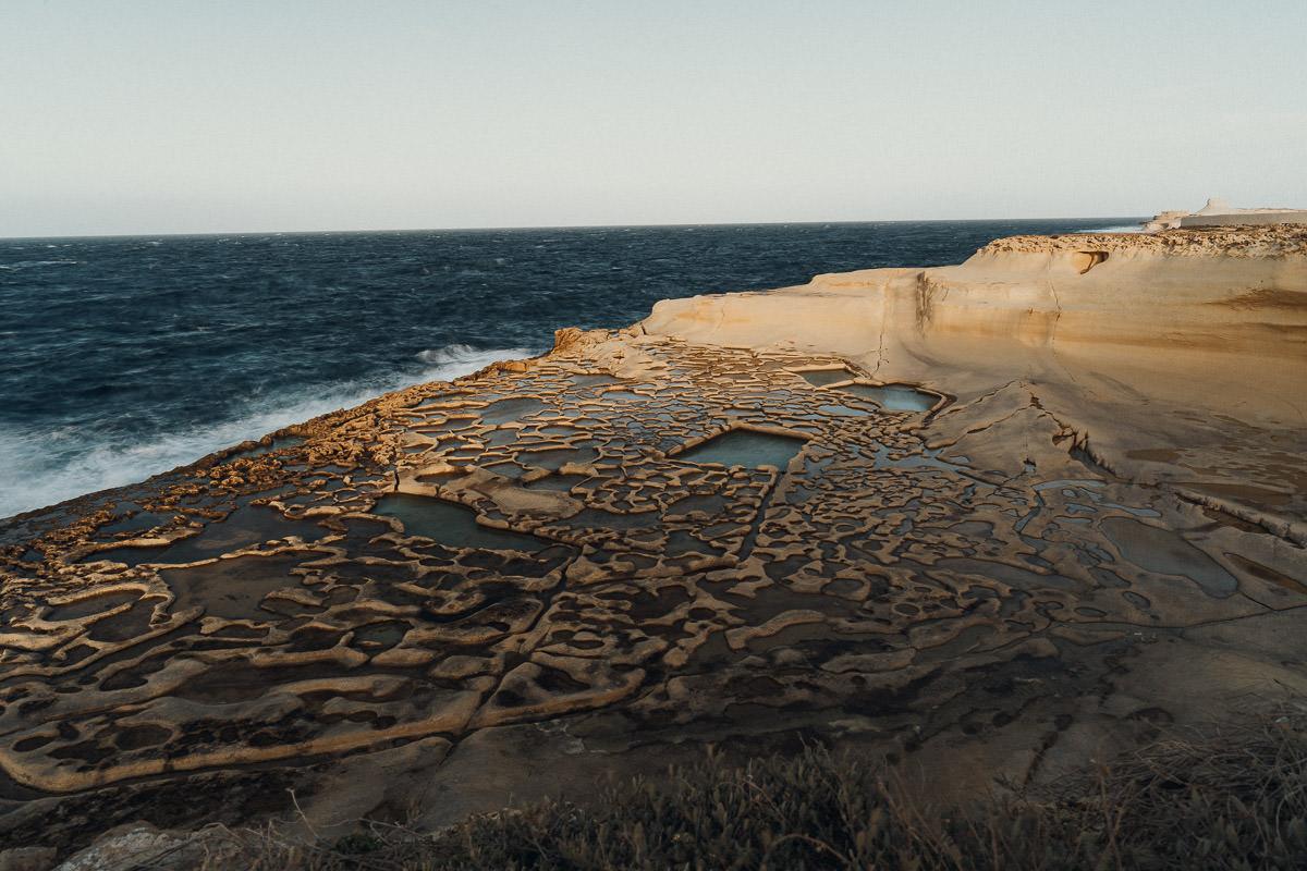 Malta Fotospots und Orte: Xwejni Bay