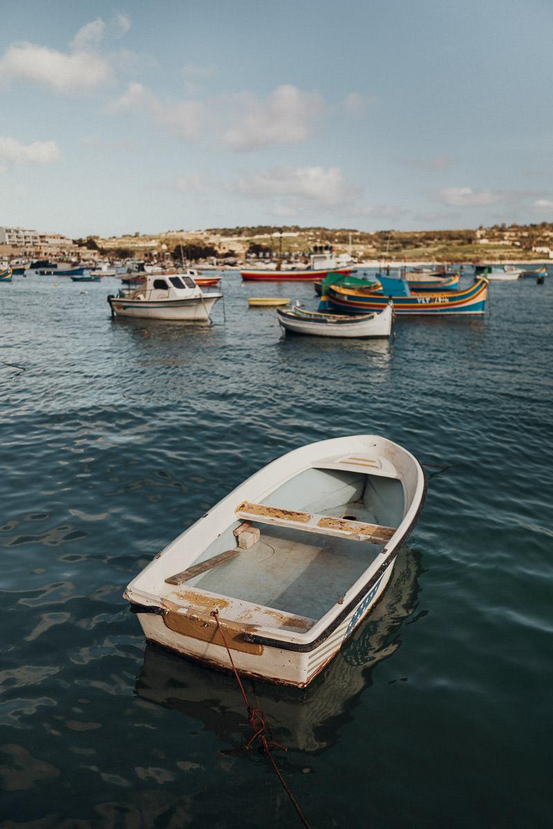 Marsaxlokk Malta Fischerdorf