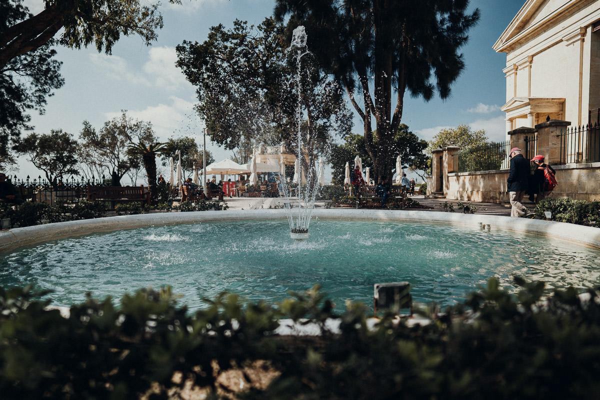 Valletta Upper Barrakka Gardens auf Malta