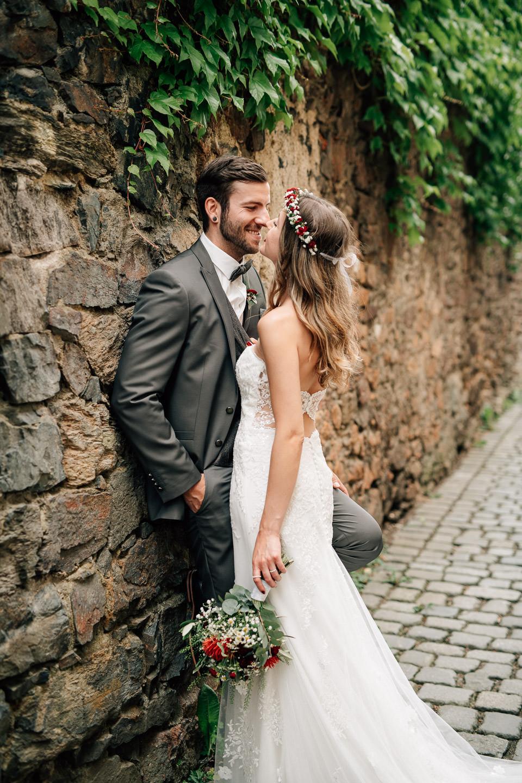 Hochzeitsfotograf Weiden - Brautpaar Porträt Fotoshooting