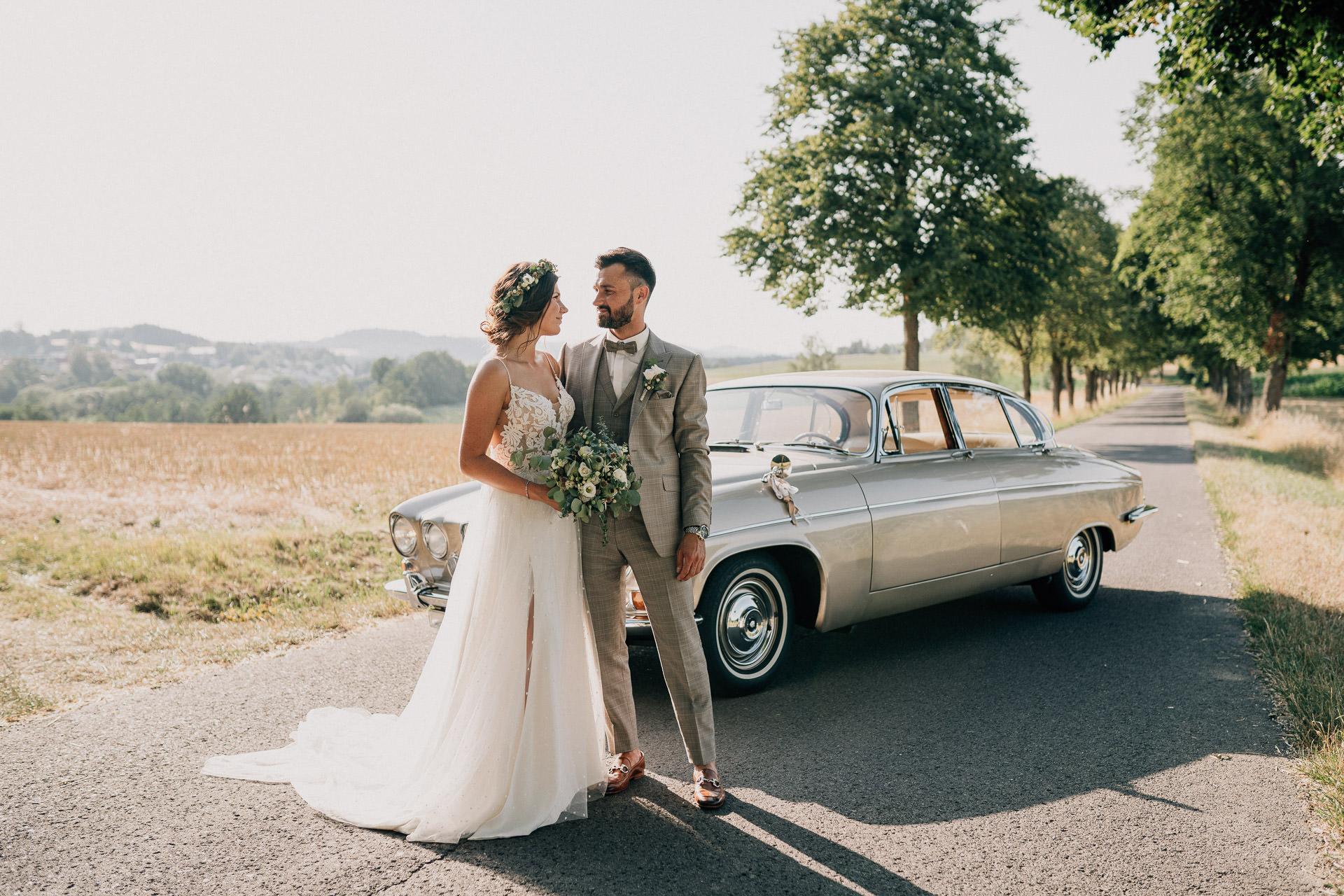 Mit dem Brautpaar als Hochzeitsfotograf in Bayreuth